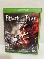 Attack on Titan (Microsoft Xbox One, 2016) Complete