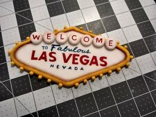 Las Vegas Sign and stuff cake topper Handmade edible birthday party unofficial