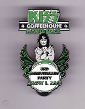 KISS Coffeehouse 2009 3rd Anniversary Eric Singer Pin