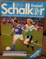 FC Schalke 04 Schalker Kreisel Magazin 02.06.1991 2.Bundesliga Fortuna Köln /582