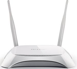 TP-Link TL-MR3420 3G/4G WLAN-Router (bis zu 300 Mbps, UMTS/HSPA/EVDO) Weiß