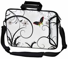 "LUXBURG 17"" Inches Design Laptop Sleeve With Shoulder Strap & handle #AJ"