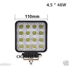 LED 48W Luce Da Lavoro Bar 12V 24V Inondazione Spot Faro Lampada 4WD Fuoristrada