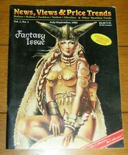 News, Views & Price Trends Magazine Volume 1 Number 1  Fantasy Issue 1993