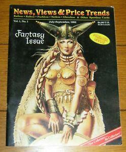 News, Views & Price Trends Magazine Volume 1 Number 1  Fantasy Issue 1993