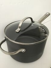NWOT MEYER ANOLON PROFESSIONAL NON-STICK SAUCEPAN WITH HANDLE