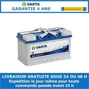 Varta Blue Dynamic F17 Batterie de Voiture 12V 80Ah 740A 315x175x175mm 580406074