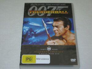 Thunderball - James Bond - 007 - 2 Disc - Brand New & Sealed - Region 4 - DVD