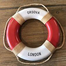 P&O Liner Ss Orsova Life Ring