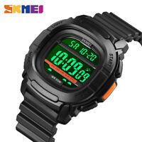 SKMEI Men Digital Watch Countdown Sport 50M Waterproof Outdoor Boys Watch 1657