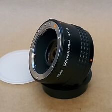 Pentax Rear Converter-A 2X-S Teleconverter Lens (Near Mint)