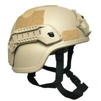 MICH2000 Simplified Action type Military tactical airsoft combat helmet w/ Mask
