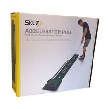 NEW SKLZ Accelerator Pro Indoor Practice Putting Green with Ball Return