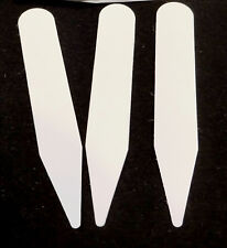200 white plastic plant stakes, labels or tags made in USA