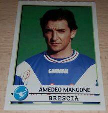 AGGIORNAMENTO FIGURINE CALCIATORI PANINI 2001/02 BRESCIA MANGONE ALBUM