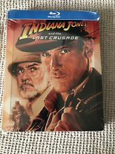 Indiana Jones and the Last Crusade - Steelbook - Blu-Ray - New/Sealed