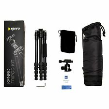 Kenro Karoo Small Compact Aluminium Standard Travel Tripod KENTR103 (UK Stock)