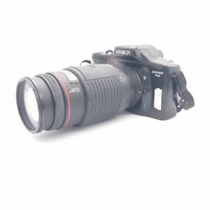 Minolta Dynax 7xi Spiegelreflexkamera + Sigma Zoom APO AF 75-300, F4,5-5,6