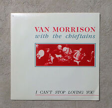 "45T SP/ VAN MORRISON WITH THE CHIEFTAINS ""I CAN'T STOP LOVING YOU"" 1991 7"" PROMO"