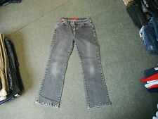 "Per Una Bootcut Stretch Jeans Size 12 Leg 27"" Faded Black/Grey Ladies Jeans"