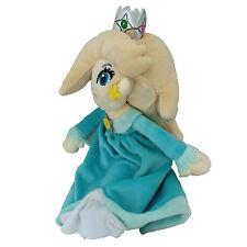 "Super Mario Bros Princess Rosalina Plush Toy Stuffed Animal Figure Blue 7"""
