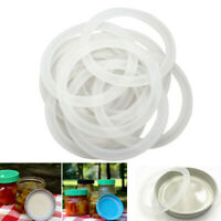 12pcs Silicone Sealing Rings Gaskets for Leak Proof Regular Wide Mouth Mason Jar