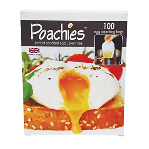 Egg Poaching Bags 17 X 13.5 X 3 Cm Pack Of 100 Egg Poaching Bags  UK FAS