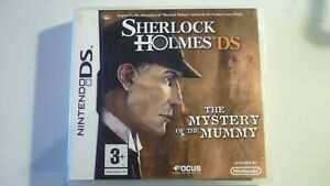 Nintendo DS Game Sherlock Holmes The Mistery of the Mummy