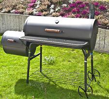 "Smoker-Grill ""Enola"" von El Fuego® Holzkohlegrill BBQ Barbecue Grill XXL Smoker"