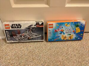 LEGO Star Wars Death Star II Battle (40407) and 40411 12 in 1 promo sets