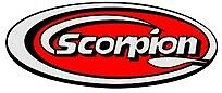 SCORPION EXHAUST SILENCER LOGO BADGE STICKER HIGH TEMP RESISTANT RACING BIKE