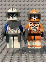 LEGO® STAR WARS™ Custom Minifigure CORUSCANT GUARD Dark Red CLONE Captain Deluxe