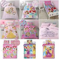Official DISNEY Fairy/Princess Duvet Cover BEDDING Set Single Girls Kid Children