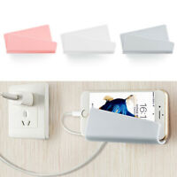 Phone Wall Holder Hanger Charging Stand Bracket For Samsung iPhone Huawei