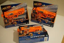 Nerf N-Strike SnapFire Blaster 3x Bundle