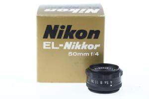 NIKON EL-Nikkor 50mm f/4,0  - SNr: 379808