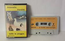 MUSICASSETTA MC Antonello Venditti Sotto la pioggia