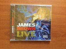 James Brown Live CD. New And Unopened