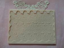 Snail Lace silicone mold fondant cake decorating wedding lace food mould FDA
