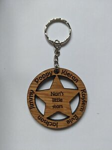 Little Stars Keyring, Nan, Nana, Mum, Dad, Mother's Day, Father's Day, Christmas