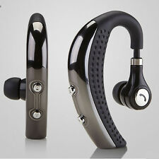 Banpa Stereo Wireless Bluetooth Headset Single Earpiece for Android iOS US SHIP