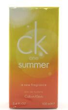 (GRUNDPREIS 99,90€/100ML) CALVIN KLEIN CK ONE SUMMER 2010 - 100ML EDT SPRAY OVP