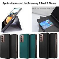 Coque de protection pour téléphone Samsung Z Fold 2 avec support 2 en 1