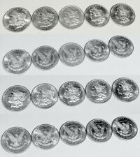 Half Original Roll 1879 S Morgan Dollars Choice / Gem Bu