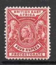More details for b.e.a.: 1896-1901 qvi 4 rupees sg 78 mint