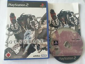 Gungrave Sony PlayStation 2 PS2 Game Complete German Version English language