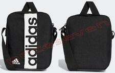 adidas Linear Performance Organizer  Black/White Mini shoulder Cross Body Bags