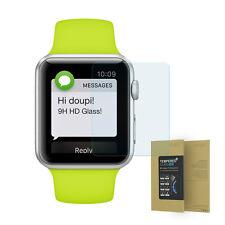 9h Vidrio Templado Apple Reloj 38mm HD Protector de Pantalla Anti Rasguños