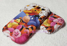 Cute Matte Winnie the Pooh and Family soft rubber case cover skin Samsung S3 III