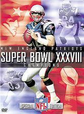NEW - NFL Films - Super Bowl XXXVIII - New England Patriots Championship Video